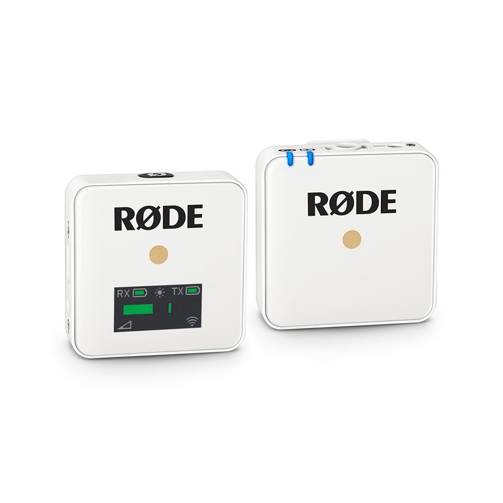 Rode Wireless GO Compact Wireless Microphone System (2.4 GHz) (Branco)