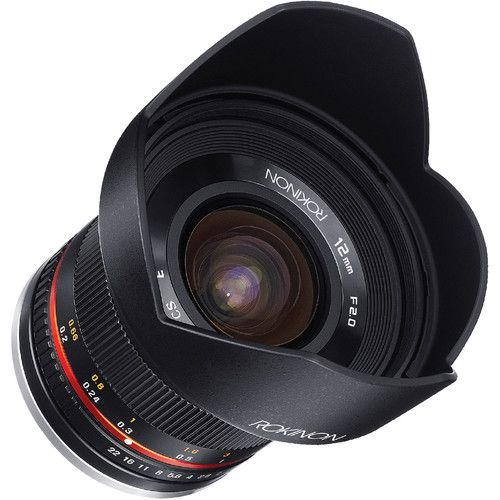 Rokinon 12mm f/2.0 NCS CS Lens for Sony E