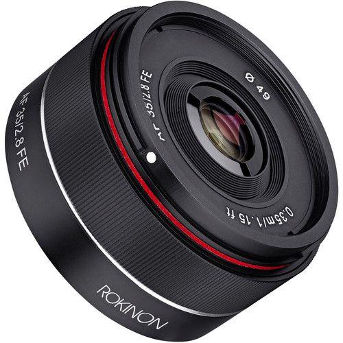 Rokinon AF 35mm f/2.8 FE Lens for Sony E