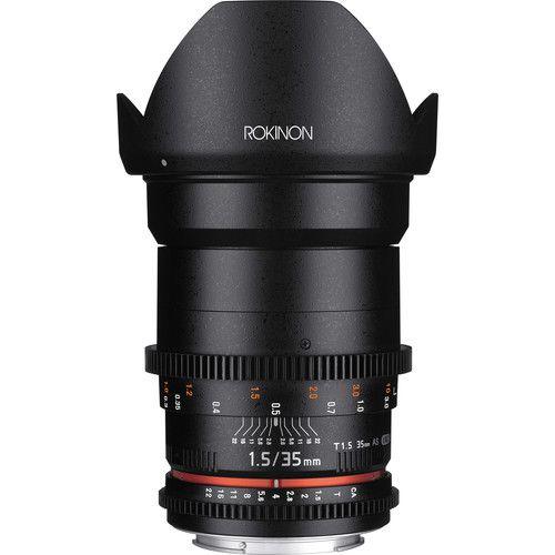Rokinon Lente Cine DS 35mm T1.5 para Sony E-Mount