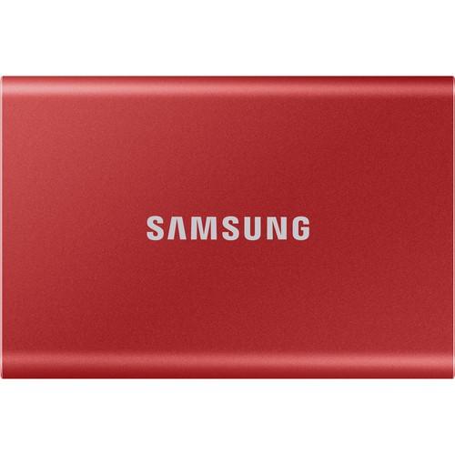 Samsung 500GB T5 Portable Solid-State Drive (Vermelho) - SSD Portátil