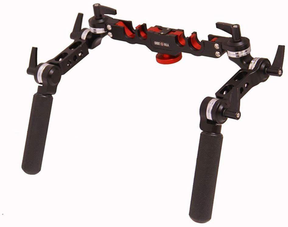 Shootvilla Rubber Skid Proof 15 mm/19 mm Universal Rosette Handle Grip Set