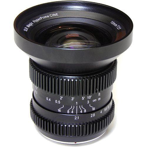 SLR Magic 10mm T2.1 Lente Cine Hyperprime (Montagem MFT)