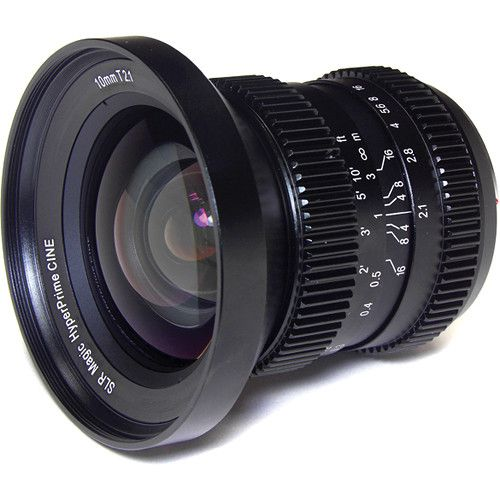 SLR Magic 10mm T2.1 Lente Cine Hyperprime (Montagem MFT)