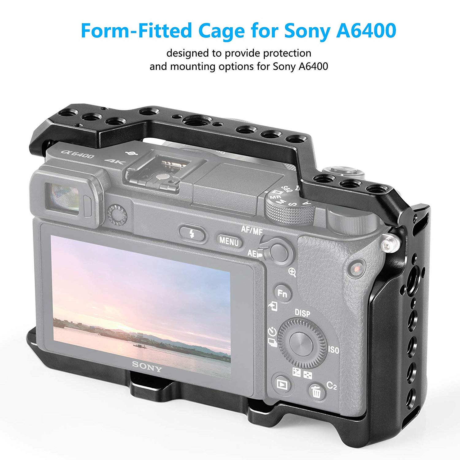 SmallRig Formfitting Cage for Sony Alpha a6300/a6400/a6500-CCS2310