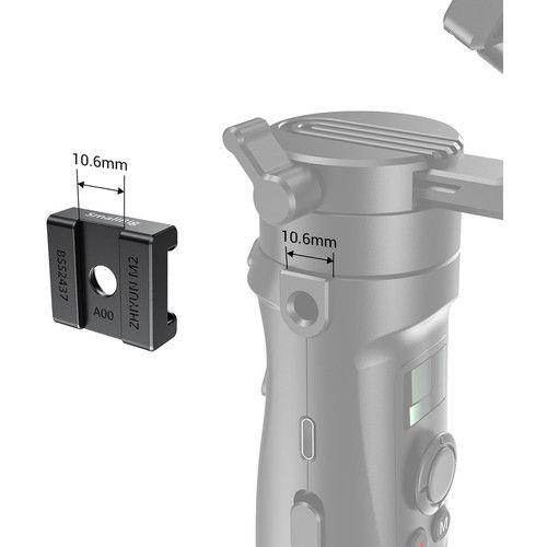 SMALLRIG Cold Shoe Mount with Anti-Twist Slot for Zhiyun-Tech Crane-M2 BSS2437