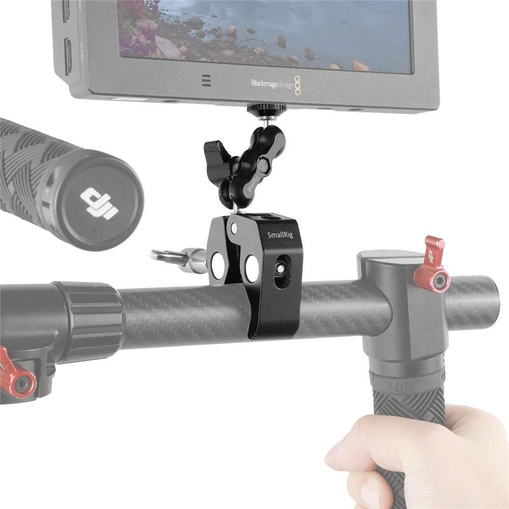 SmallRig Multi-Functional Crab-Shaped Clamp with Ballhead Arm 2161