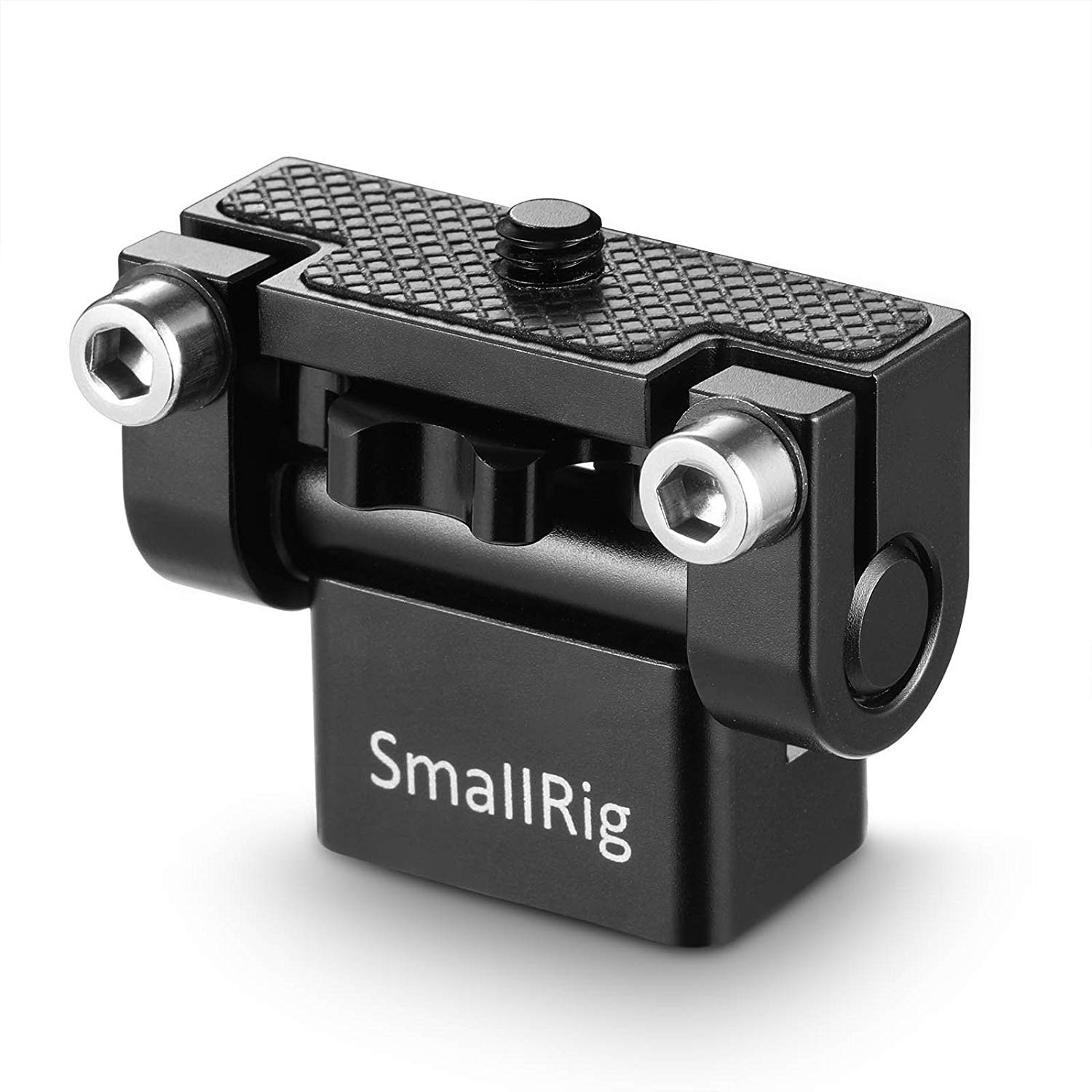SmallRig Tooless Pan Monitor Holder Mount Arm Anti-Twist for Camera Field Monitors, Friction Up to 180° - 1842