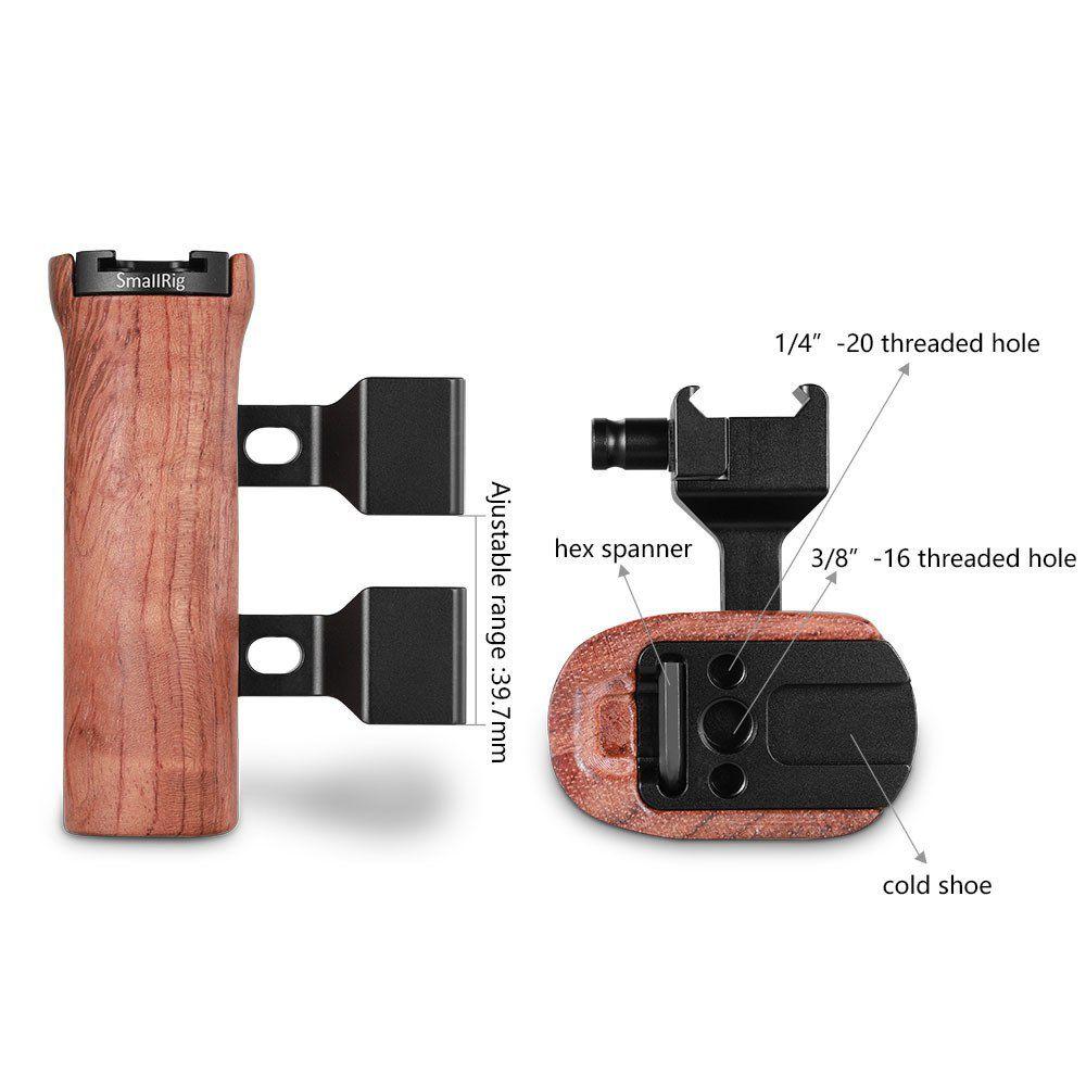 SmallRig Wooden NATO Side Handle 2187
