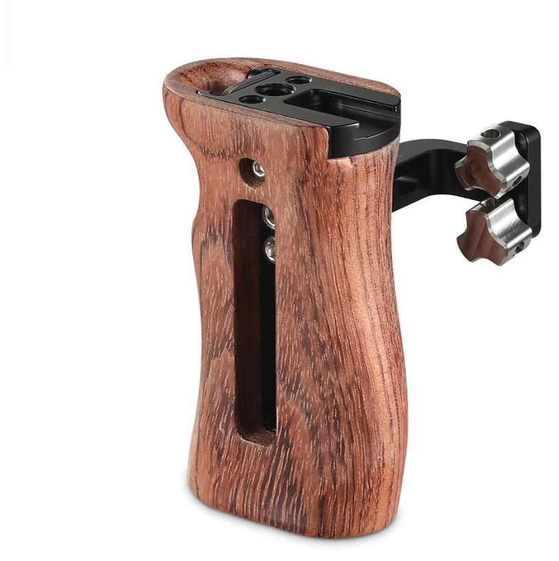 SmallRig Wooden Universal Side Handle-2093