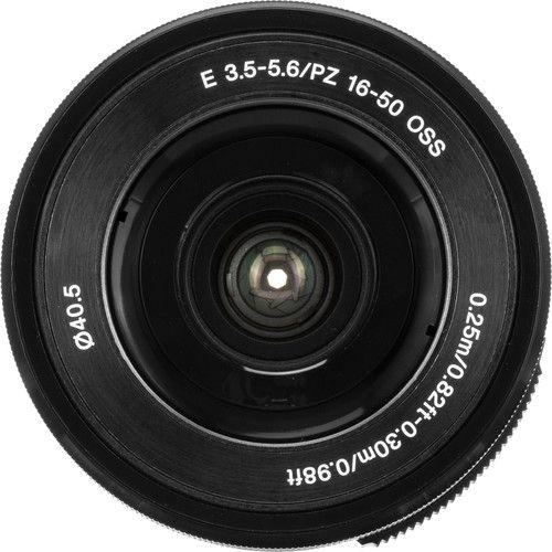 Sony E PZ 16-50mm f/3.5-5.6 OSS Lens