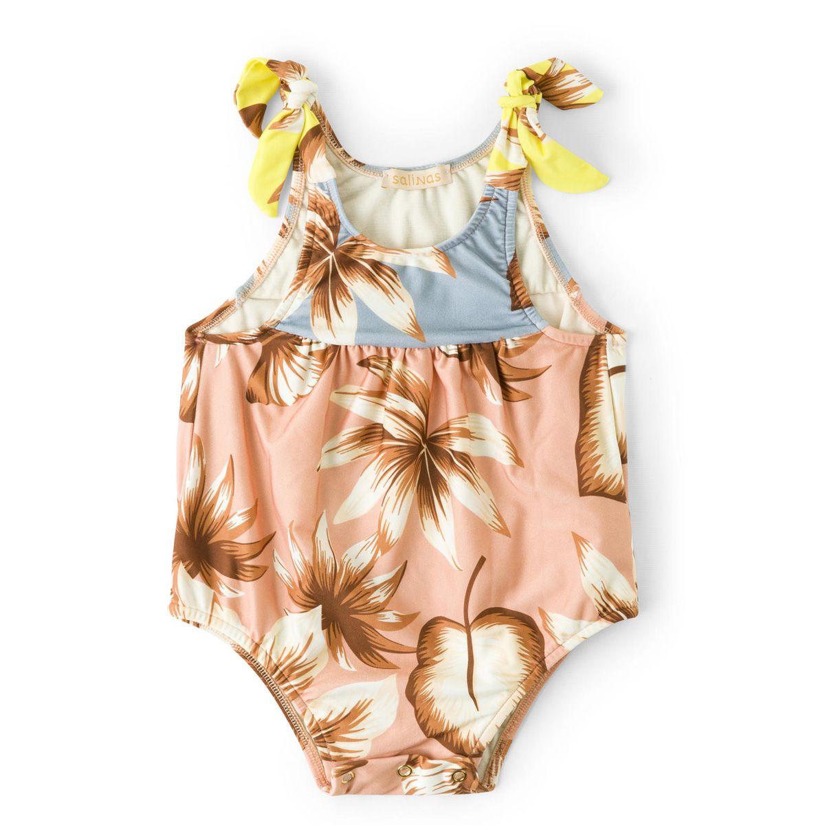 Maiô Bebê Salinas Spring Proteção UV 50