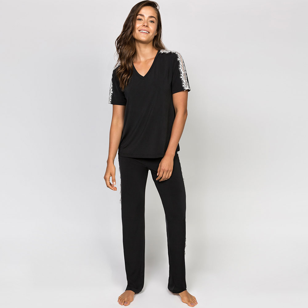 Pijama Longo Jogê Jersey Juliana