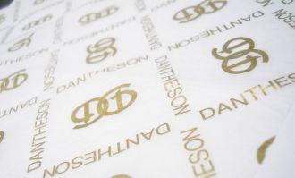 Papel de Seda Personalizado  20g/m - Tamanho 25x35 - impressão em 1 cor - Linha paper 7096