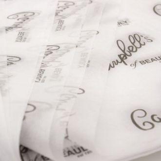 Papel de Seda Personalizado  20g/m - Tamanho 35x50 - impressão em 1 cor - Linha paper 1207
