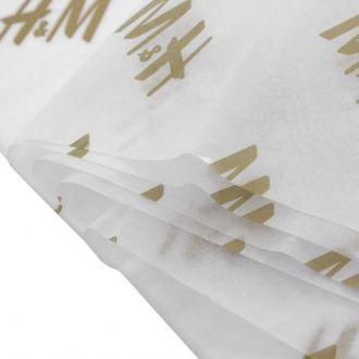 Papel de Seda Personalizado  20g/m - Tamanho 35x50 - impressão em 1 cor - Linha paper 1203