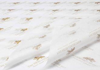 Papel de Seda Personalizado  20g/m - Tamanho 35x50 - impressão em 1 cor - Linha paper 1209
