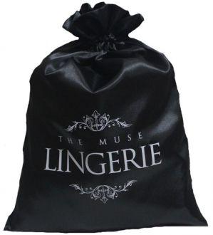 Embalagem de cetim para lingerie - 25x35 - impressão em serigrafia -  Linha Classic 7289