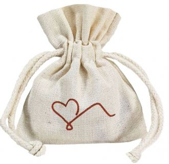 Embalagem de algodão para anel 06x08 -  impressão da logomarca em serigrafia - Linha Classic  4304