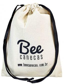 Embalagem de algodão para kit ressaca - 12x18 -  impressão da logomarca em serigrafia  - Linha Classic 7195