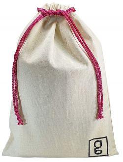 Embalagem de algodão Personalizado 60 x 90 -  impressão da logomarca em serigrafia  - Linha Classic 41312