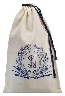 Embalagem de algodão personalizado para brindes - Tamanho 25 x 35 - impressão em serigrafia - Linha Classic 4115