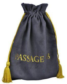 Embalagem de Camurça premium 15x20 - Impressão Hot Stamping Italiano - fechamento com  pingente de seda - Linha Luxo 1093