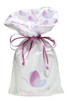 Embalagem de cetim  15 x 20 - Borda gola personalizada - impressão digital -  Linha Exclusive 7080