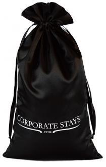 Embalagem de cetim personalizado para chinelos -  20 x 35 - impressão em serigrafia -  Linha Classic 7019