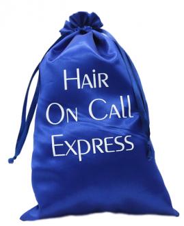 Embalagem de cetim personalizado para cabelos - 30 x 40 - impressão em serigrafia -  Linha Classic 7419