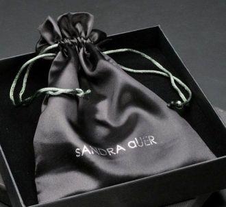 Embalagem de cetim 30x40  - Impressão Foil Metalizado  - Linha Luxo 1362
