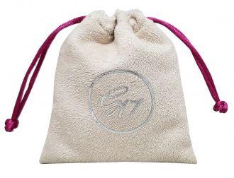 Embalagem de Suede para joias - Tamanho 06 x 08 - Impressão em Hot-Stamping Italiano - Linha Luxo 6374