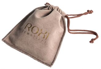Embalagem de Suede 08 x 12 - Personalização em Foil Metalizado - Linha Luxo  4256