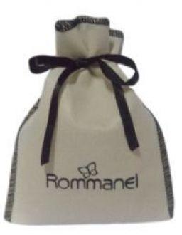 Embalagem de tnt para semi joias - Tamanho 06 x 08 - personalizado em serigrafia - Linha Classic 6323