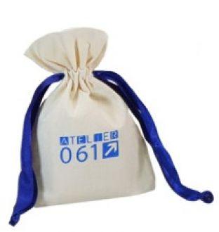 Embalgem de algodão para anel 06x08 -  impressão da logomarca em serigrafia - Linha Classic  4305