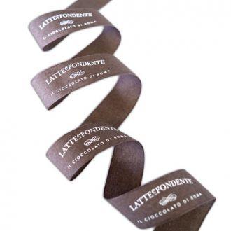 Fita de cetim personalizada 35mm  - Impressão Foil Metalizado ou serigrafia 1 cor - Preço por metro - Linha cristal  4539