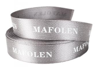 Fita de cetim personalizada 45mm   - Impressão Foil Metalizado ou serigrafia 1 cor - Preço por metro - Linha cristal 1464