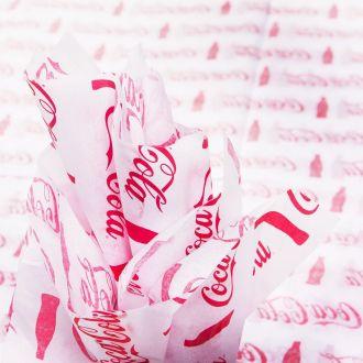 Papel de Seda Personalizado 20g/m - Tamanho 50 x 70 - Impressão em 1 cor - Linha paper  7670