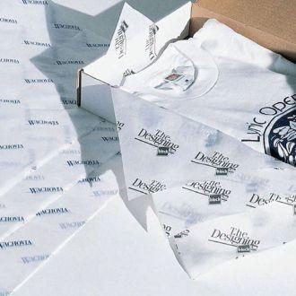 Papel de Seda Personalizado  20g/m - Tamanho 25x35 - impressão em 1 cor - Linha paper 7705