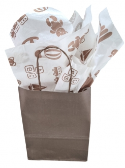 Papel de Seda Personalizado 20g/m - Tamanho 50 x 70 - Linha paper  1210