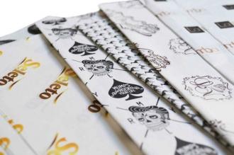 Papel de Seda Personalizado 20g/m - Tamanho 50 x 70 - Linha paper 477