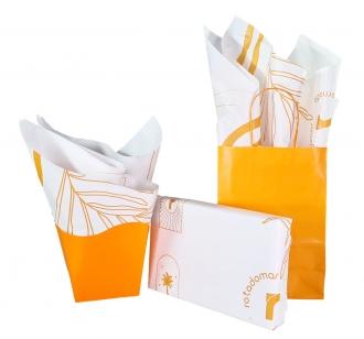 Papel de Seda Personalizado 20g/m - Tamanho 50 x 70 - Linha paper 7703