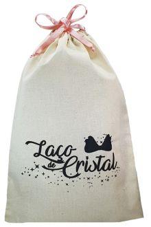 Saco de algodão personalizado 12 x 18 -  Linha Classic 713