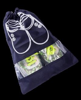 Saco organizador para sapato de tnt  30x40 - personalizado com visor plastico - Linha Classic  1427