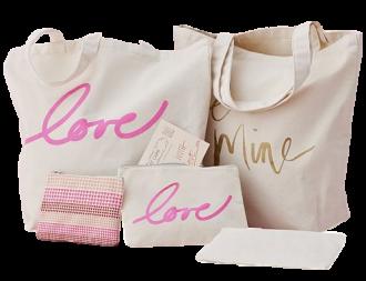 Sacola e Necessaire de Lonita personalizada - Fabricamos todos os modelos e tamanhos á sua escolha - impressão em serigrafia -  Linha Gift 1369