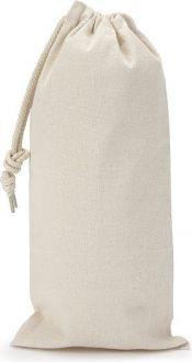 Saquinho de algodão - borda simples sem impressão 18 x 35  - Linha Classic 2212