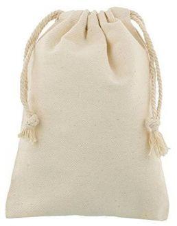 Saquinho de algodão - Sem impressão 20x30 - Linha Classic  2110