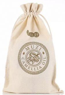 Saquinho de algodão para brindes 25x35  - impressão logomarca em serigrafia   - Linha Classic 4160