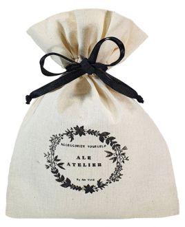 Saquinho de algodão  para lembrancinhas - 10 x 15 - personalizado em serigrafia 1 cor - Linha Classic 7105