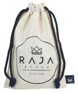 Saquinho de algodão personalizado 06 x 08  -  Etiqueta lateral personalizada - Linha Classic 4069
